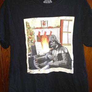 DARTH VADER XMAS T-SHIRT 👕 Star Wars Christmas